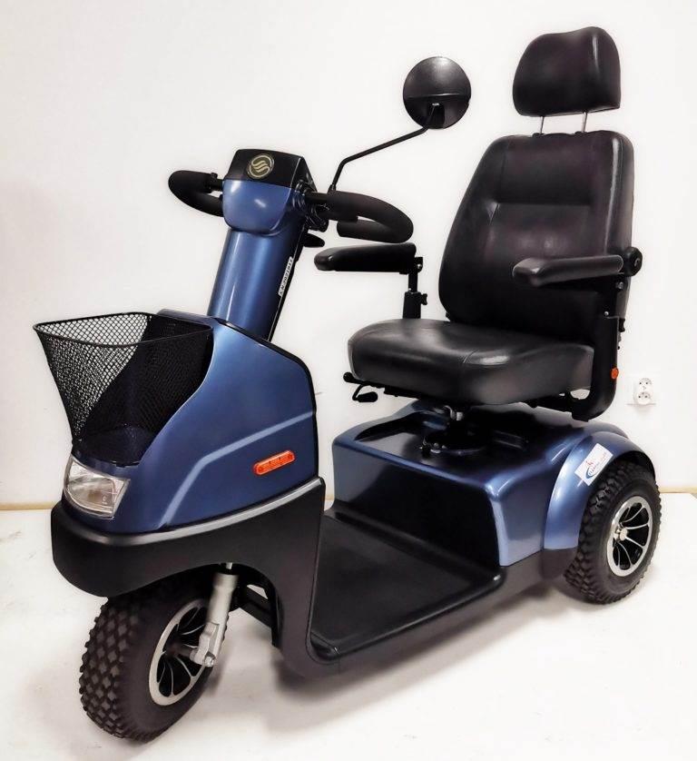 skuter pojazd inwalidzki elektryczny breeze dla seniora