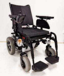 wózek inwalidzki elektryczny terenowy pokojowy